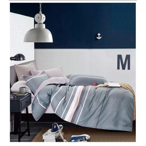 Комплект постельного белья из сатина В-2302