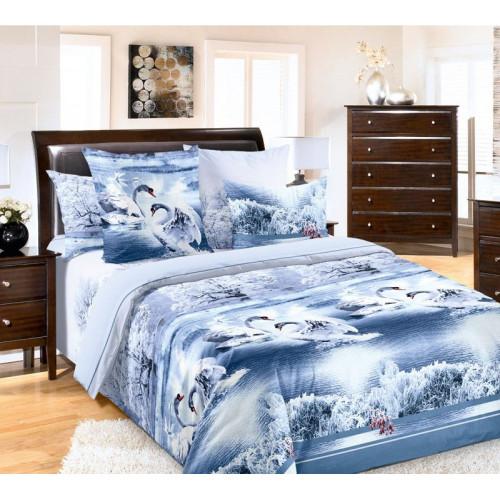 Комплект постельного белья Лебединое озеро Бязь