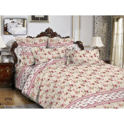 Комплект постельного белья Бязь Дизайн 9799 вид 1 ГОСТ