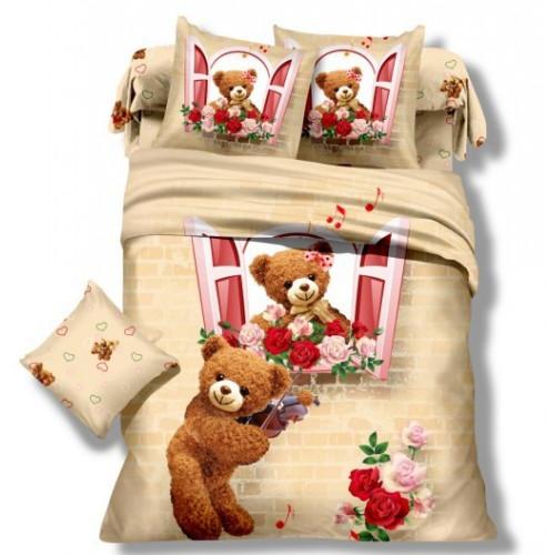 Комплект постельного белья Детский сатин DS-02