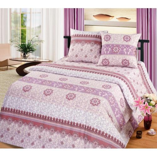 Комплект постельного белья Каскад коричневый Бязь
