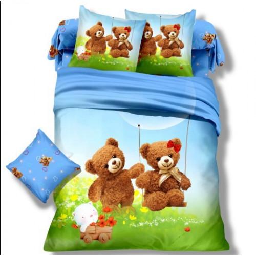 Комплект постельного белья Детский сатин DS-04