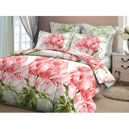 BR-4 Комплект постельного белья Бязь Коллекционные Розы-1