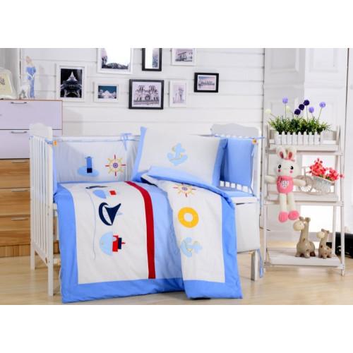 Комплект постельного белья DK-13 (комплект с бортиком)