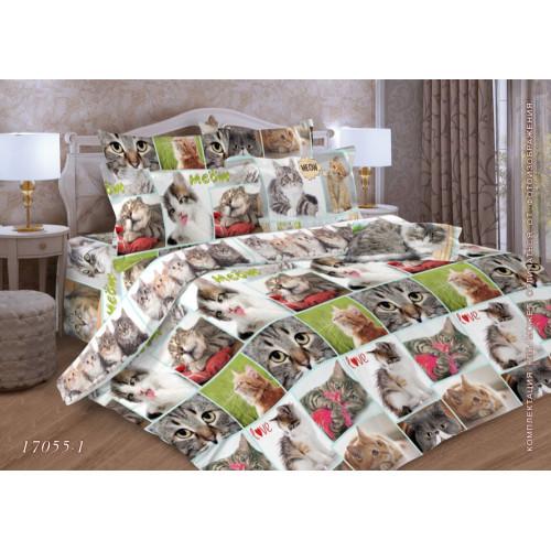Комплект постельного белья Бязь Дизайн 17055-1 ГОСТ