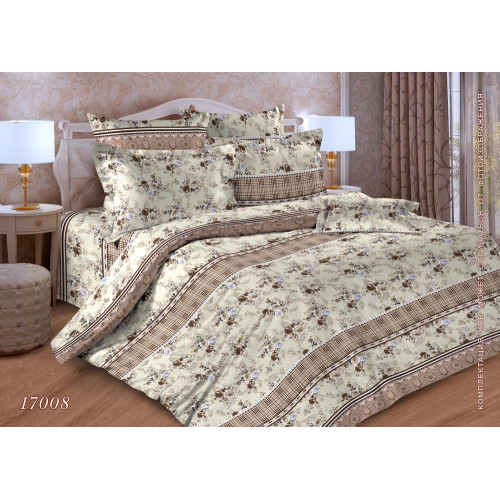 Комплект постельного белья Бязь Дизайн 17008 ГОСТ