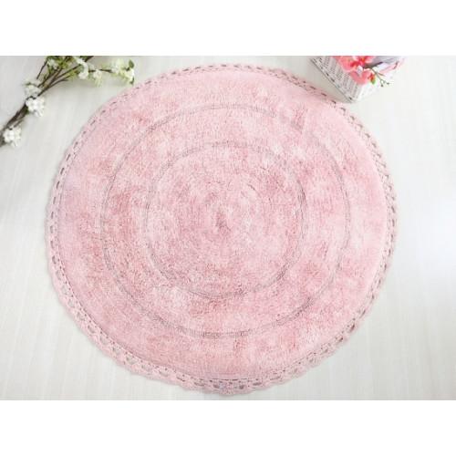 GENNY Dantelli Pembe (розовый) Коврик для ванной