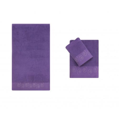 Полотенце банное CORTEZZA Purple (пурпурный)