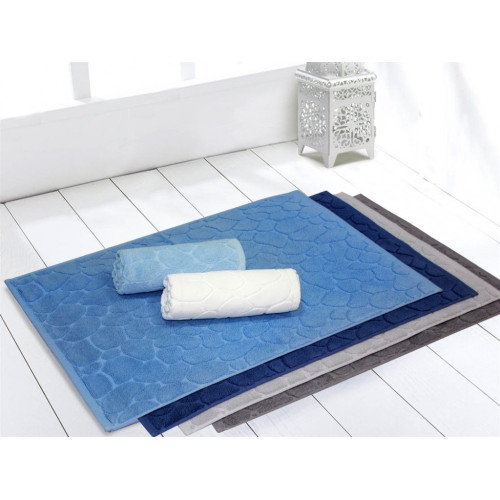 NOSTALGIA White (белый) Коврик для ванной