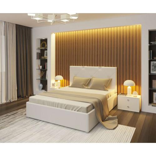 Простая и элегантная кровать Альменно