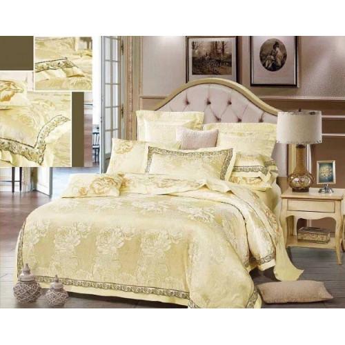 Комплект постельного белья из сатин-жаккарда С-3502
