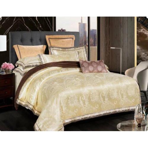 Комплект постельного белья из сатин-жаккарда С-3503
