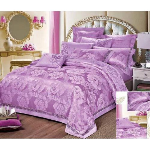 Комплект постельного белья из сатин-жаккарда С-3514