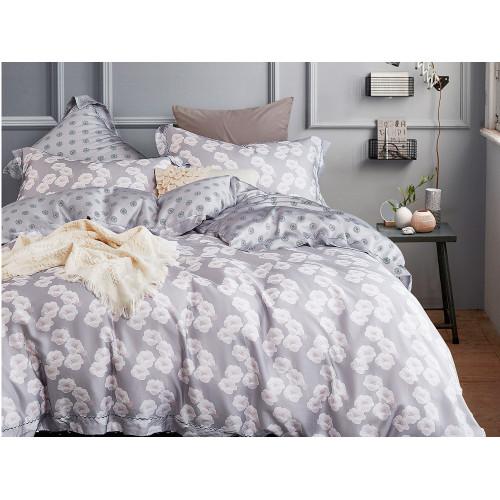 Комплект постельного белья Евро, тенсел 1034-6