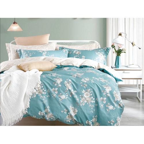Комплект постельного белья Семейный, печатный сатин 1083-7