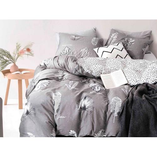 Комплект постельного белья Евро, печатный сатин 1115-6