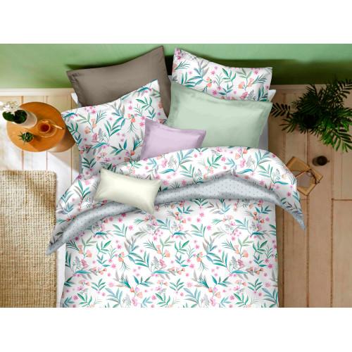 Комплект постельного белья Семейный, печатный сатин 363-7