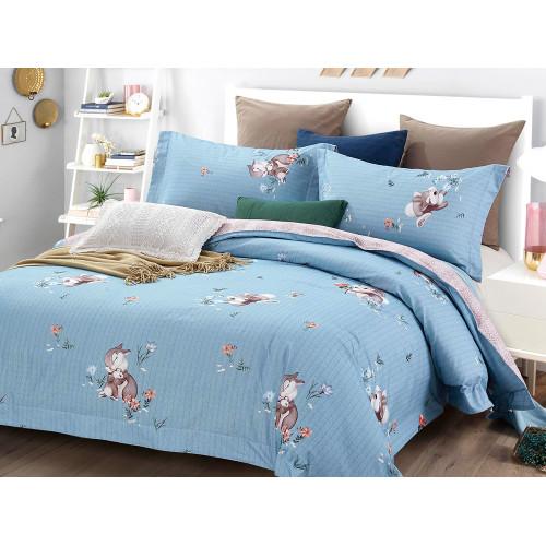 Комплект постельного белья 1,5-спальный, фланель 440-4S