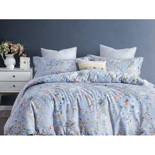 Комплект постельного белья Евро, печатный сатин 480-6