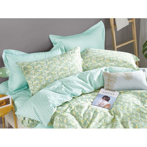 Комплект постельного белья 1,5-спальный, печатный сатин 492-4XS