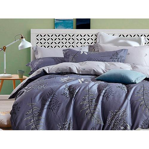 Комплект постельного белья Семейный, печатный сатин 576-7