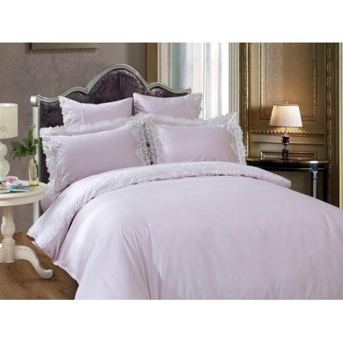 Комплект постельного белья Евро, люкс-сатин 734-4