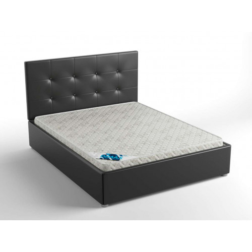 Надежная, стильная кровать с классической спинкой Норма с п/м
