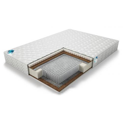 Разносторонний матрас с пружинным блоком класса люкс Микро Медиум хард