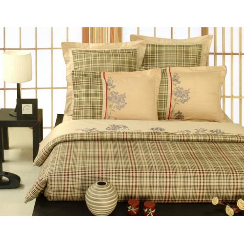 Комплект постельного белья из сатина с вышивкой